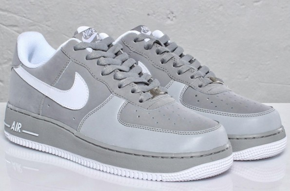 grey air force ones